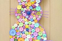 Easter crafts/decorations / by Lori Schill
