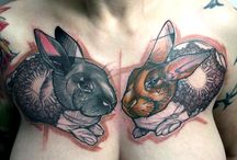 tatouages / by Clavicule. Virgule