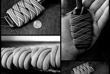Knots - Practical & Decorative / The practical & decorative uses for knots, braids,  weaves and various types of ropes and cordage (especially paracord). / by Mike Swanson