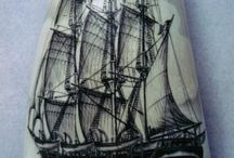 Scrimshaw / Art of the Sailor / by StudioWagle