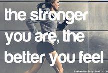 fitness inspiration / by Hilary Baumann