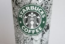 Coffee Cup Doodle Project / by Brenda Neal