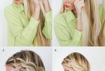 Hair, make up & nails / by Alexandria A.