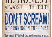 Rules / by Dace Erdman