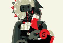 Illustration / by Pinlord Katzel
