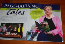 I'm so excited! / Our local magazine, Burleson NOW, interviewed me! / by Jerrie Alexander