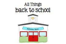 All Things Back to School / All Things Back to School / by Boy Mama Teacher Mama