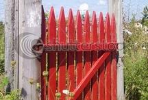 THROUGH THE GARDEN GATE / by Dawn Neill