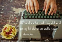 Writing Quotes / by Worldwide101 Virtual Assistants