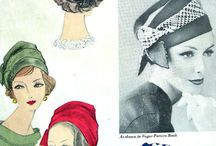 Vintage Hat Patterns / by mchats