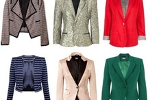 sacos,blazers!!!! / by Monika Canales