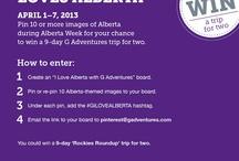 I love Alberta with G Adventures! / by Megan Schlechter