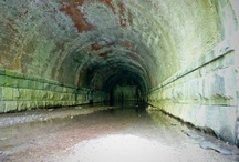 ABANDONED ROADS,TUNNELS & HIGHWAYS / by Snooks Thomas