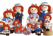 Raggedy Ann and Andy ...my favorite dolls!!!! / by Renee Kiser