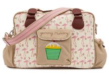 SS14 Changing Bag Collection / Spring/Summer 2014 Pink Lining Changing Bag, Diaper Bag, Nappy Bag collection / by Pink Lining