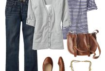 wardrobe style / by Mary @ At Home on the Bay