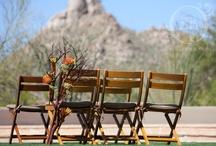 arizona wedding reception chair inspiration / by Sedona Bride Photogs Andrew