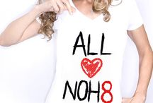 NOH8 = EQUALITY / I Won't Stand For Anything Less / by Courtney Swatsenbarg