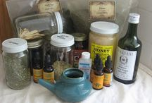 Herb(s) / ... And infusions, and tinctures, and the like! / by McKenzie (Bat'Yah)