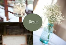 Wedding Decor / by Kathy Rhear