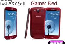 Samsung Galaxy S3 Garnet Red Deals / Best and cheapest prices and deals for the Garnet Red Samsung Galaxy S3 (Samsung i9300 Galaxy SIII) / by Phones LTD - Compare Cheap Mobile Phone Deals