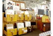 Craft Show Display / Inspiring craft show displays, especially for art and stationery.  / by Stephanie   Type Shy