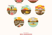 Wes Anderson / alias THE genius.  / by Amelie Sogirlyblog