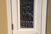 Chalkboard Quotes / by cclong