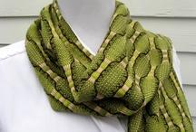 Handwoven scarves / by Vladka Cepakova