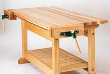 Wood working bench / by 56below