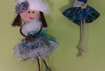 broches / by Manualidades Libelys