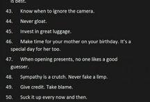 Words of wisdom / by Heather Burnette