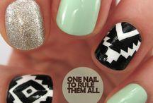 jaileys nail ideas / by Jeannette Jernigan