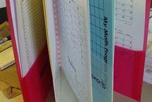 Data binder  / by Catherine Lar