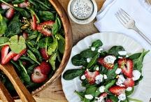 recipes salads / by Judy Escalon