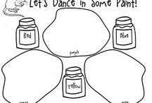 My art classroom - handouts / by Shelby Etress