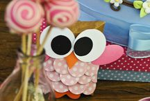 HOOt--one yr party / Adira one year party=-hoot! / by Niza Vail