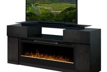 Media Console Fireplaces / by Dimplex