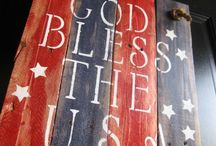 RED,WHITE,BLUE.... / by Kathywatts