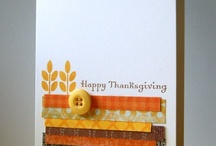 Fall/Thanksgiving Card / by Helen Gullett