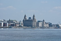 River Mersey & Liverpool / This album shows how nice a Saturday afternoon in July can be at the River Mersey in Wallasey with an amazing view to the Liverpool skyline. / by Volker Buntrock
