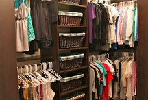 Closet organization / by Noel Smeraglia