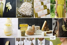 Funky wedding colour palettes / by Chic Weddings