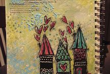 art journaling / by Jen Hollas-Hall