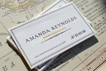 Noteworthy business cards / by Jennifer Lange-Pomes
