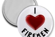 I (heart) firemen / by Shannon Britton Sexton
