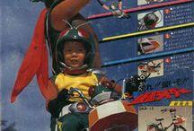 Old & Vintage Kamen Rider / by Dr. Moku