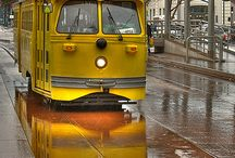 Street Cars/Trams/Trolley / by Kathy Simon