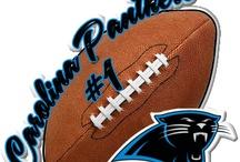 Black & Blue / Carolina Panthers #KeepPounding / by Wanda Michele