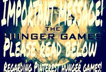 83rd Annual Pinterest Hunger Games / by Abby H